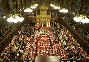 Британскую Палату лордов снова возглавила женщина