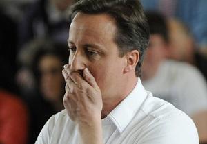 Премьер-министр Британии забыл дочь в пабе