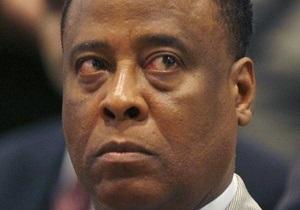 Врач Майкла Джексона назвал смерть певца самоубийством