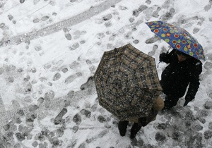Укргидрометцентр: завтра в Украине ожидается мокрый снег, а с 31 октября будет сухо
