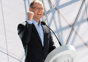 Яценюк: Объединенная оппозиция перешла к основному этапу избирательной кампании