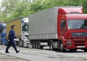 Власти запретят грузовикам въезжать в Киев из-за жары
