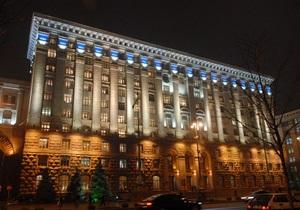 Власти Киева пожаловались, что не могут контролировать строительные работы в столице