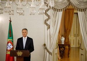 Президент Португалии распустил парламент