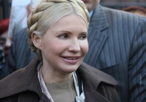 Генпрокуратура отпустила Тимошенко в Брюссель