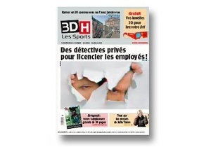 В Бельгии вышла 3D-газета