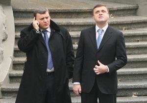 Левочкин заявил, что коалицианты могут поссориться из-за реформ Януковича