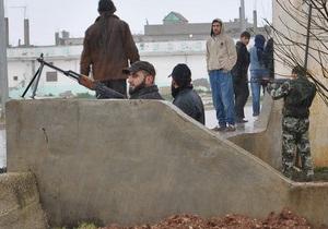 В сирийских городах продолжаются бои, на турецкую территорию упал очередной снаряд