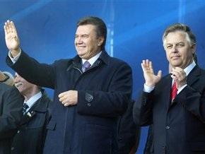 Сегодня на телевидении с агитацией выступят Янукович и Симоненко