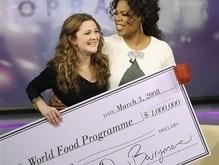 Дрю Бэрримор пожертвовала $1 млн голодающим детям