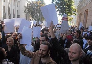 Всемирная газетная ассоциация призвала Верховную Раду отклонить закон о клевете