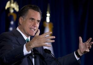 Ромни официально выдвинут кандидатом в президенты США в первый день съезда