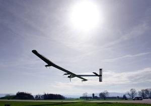 Первый самолет на солнечной батарее начал межконтинентальный полет