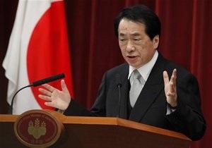 Премьер Японии отказался от зарплаты до разрешения ядерного кризиса