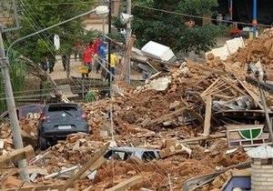 Число жертв оползней в Рио-де-Жанейро продолжает расти