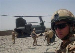 Украина направит в Афганистан семь военных специалистов