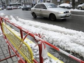 Киевские дороги начали готовить к зиме