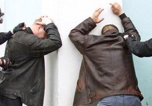 Милиция задержала четырех подозреваемых в ограблении банков в Ровенской и Закарпатской областях