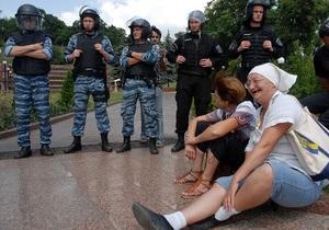 Митингующие под Украинским домом поставили ультиматум для депутатов