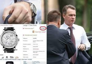 По цене квартиры в Киеве. Журналист выяснил, что новый глава ЦИК носит часы за $50 тыс.
