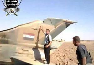 Сирийские повстанцы заявляют о двух сбитых истребителях