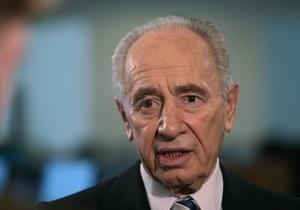 Вторгаться в Сирию должны только арабские страны - президент Израиля