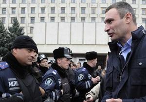 Кличко призвал Януковича дать оценку фальсификациям на выборах