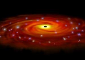 новости науки - новости космоса: В соседней галактике обнаружили россыпь черных дыр