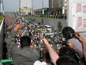 Власти Ирана не разрешили оппозиции провести траурную церемонию
