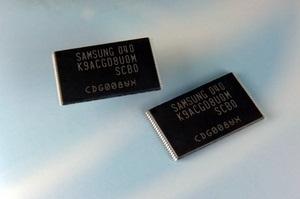 Samsung начал производство 64-гигабитных микросхем памяти NAND с 3-битной архитектурой по 20-нанометровым технологическим нормам