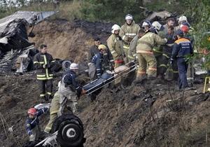 Заслуженный летчик РФ о крушении самолета Як-42: Лайнер, вероятно, был перегружен