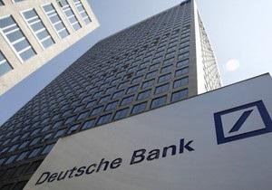 Крупнейший банк Германии помогал скрывать убытки итальянцам