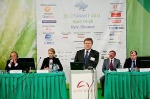 В Киеве с успехом прошел Международный Форум Чистых Технологий ECOSMART-2011