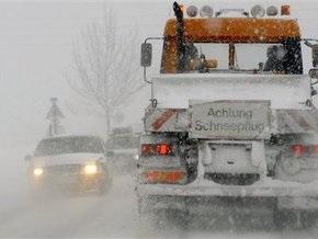 На Австрию обрушились сильные снегопады