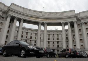 МИД: Украинцы не пострадали в результате столкновений в Сирии