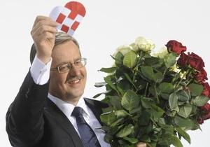 Баррозу поздравил Коморовского с победой на президентских выборах