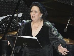Яценюк посетил концерт Монсеррат Кабалье