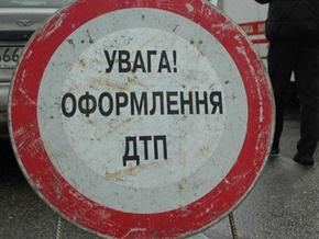 В Донецкой области перевернулся автобус