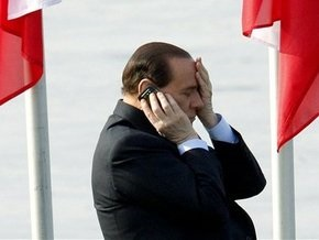Возле виллы Берлускони поймали четверых папарацци