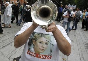 Тимошенко готова к рассмотрению ее дел за рубежом