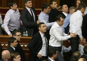Иностранные СМИ:  Ядерное оружие  украинского парламента