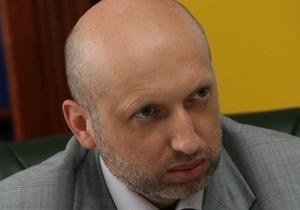 Турчинов: Власть должна выполнить резолюцию Европарламента и прекратить репрессии