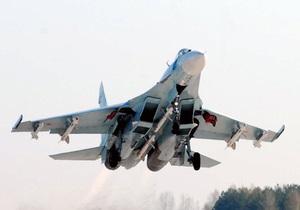 В Карелии разбился истребитель Су-27