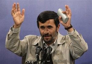 Ахмадинеджад: НАТО мешает установлению мира в Афганистане