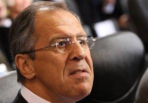 Лавров: Россия не считает действия НАТО в Ливии защитой мирного населения