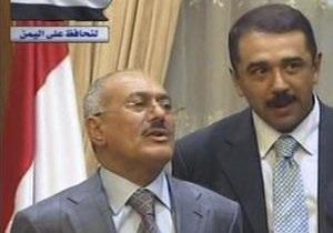Попавший под обстрел президент Йемена отменил пресс-конференцию  из-за царапин