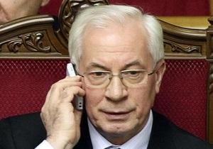 Азаров поручил киевской мэрии благоустроить прилегающие к посольствам территории