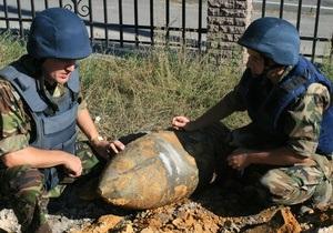 новости Харьковской области - бомба - В Харьковской области найдена авиабомба времен войны весом в четверть тонны
