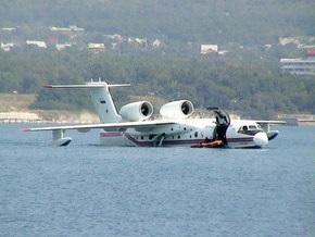 В Санкт-Петербурге упал самолет-амфибия