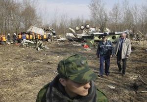 Обнародованные в СМИ записи переговоров польских летчиков не имеют отношения к разбившемуся Ту-154